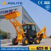 China Construction Machine Mini Wheel Loader Mini Excavator Backhoe for Sale