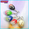Wholesale Popular Openable Enamel Russia Faberge Charms, Egg Pendant Jewelry