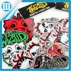 Colorful Halloween Whimsy Skulls Realistic Car Window Sticker