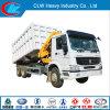 Cnhtc Sinotruk HOWO A7 Cargo Truck Crane with Crane