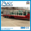 2/3 Axles 30t-120t Low Flat Bed Cargo Truck Trailer Semi Trailer