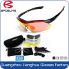 Factory Direct Sales Replacement 5 Lens Polarized Cycling Sunglasses
