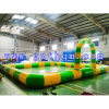 Inflatable Race Track/PVC Charging Circuit