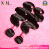 Double Drawn Natural Color Natural Wavy Can Mixed Lenght Asian Virgin Hair