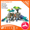Outdoor Tree Design Kids Slide Playgrounds for Sale