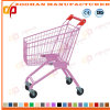 Top Quality Colourful Supermarket Shopping Trolley (ZHt273)