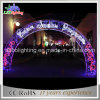 Multi Color Indoor and Outdoor Use Christmas Motif Archway