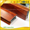 Wooden Print Aluminum Frame for Sliding Window and Door