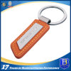 Custom Alloy Leather Keychain for Promotion (ELE-K096)