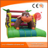 2017 Popular Monkey Jungle Park Inflatable Obstacle Course (T8-352)