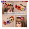 Flower Scruchies Elastic Hair Jewelry Hair Weaving Party Items (P3041)