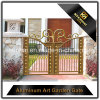 Powder Coated Metal Aluminum Security Garden Fence Gate for Villa