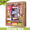 Multilayer Bear Heavy Items Foldable Fabric Wardrobe Bedroom Furniture