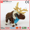 Christmas Gift Realistic Stuffed Reindeer Plush Animal Soft Reindeer Toy