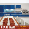 Modern Design Blue Matte Lacquer Kitchen Cabinet