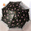 2 Folding Lady Umbrella with Printing and Embroidery (YS-2F1001A)