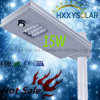 15W IP65 All in One LED Solar Street Light