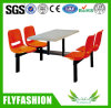 Restaurant Furniture 4 Seats Dining Table and Chairs