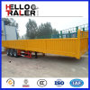 3 Axles Side Wall Trailer with 600mm Height Wall