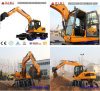 4X4wd Wheel Excavator 6t, 7t, 8t, 12ton for Sale in Asia
