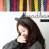 Polkadot Rabbit Ear Hair Bands Accessory