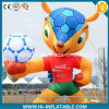 Custom Made Inflatable Deer / Mascot / Animal Cartoon with Football for Advertising