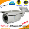 Weatherproof Varifocal 1.3 Megapixel Onvif Network IP Camera (60M IR)