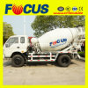 LHD or Rhd 4X2 Mini Truck Mixer with 3m3/4m3/6m3