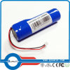Li-ion Battery Pack 3.7V 2200mAh 18650 Rechargeable Battery
