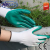 Nmsafety Green Nitrile Coated Safety Gloves