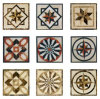 Natural Marble Floor Medallion/Marble Waterjet/Marble Pattern