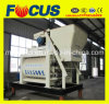 Hot! Js1500 Twin Shaft Concrete Mixer, PLC Control Concrete Mixer