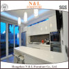 2016 New Modern Style High Gloss Pink Painting Kitchen Cabinet