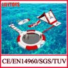 Newest Design Small Red Color Inflatable Floating Water Park Water Toys Water Trampoline for Lake (J-water park-129)