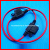 Mini Car Fuse Holder with Wire Leads (FC-16237)