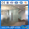 Exterior Frameless Frosted Commercial Residential Front Glass Doors