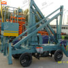 CE Approved Movable Boom Lift for Aerial Work