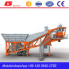 Good Used Mobile Concrete Mixing Batching Plant 40m3 for Sale