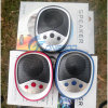 Mini Speaker with FM Radio Support TF Card with Fashion Looking