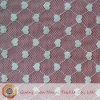 Knitted Nylon Grid Lace Fabric with Heart Pattern (SP1025)
