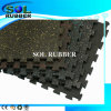 Fire Resistance Fitness Rubber Floor Interlock Ruber Mat