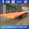 30ton Capacity Flatbed Trailer 2 Axle Container Semi Trailer