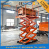 2ton Hydraulic Freight Warehouse Scissor Auto Lift with Ce