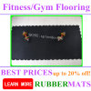Interlock Gym Rubber Flooring Fitness Floor Tiles