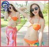 Women Swimwear Sexy Bikini 3PCS Set in Digital Printing