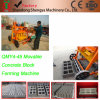 Qmy4-45 Mobile Egglaying Concrete Block Making Machine/Hollow Block Machine/Solid Brick Machine