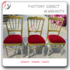 Red Seating Golden Frame Napoleon Tiffany Chair (AT-112)