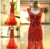 The New 2014 Youth Fashion Nail Bead Evening Dress