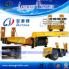 China Supplier New Low Loader Flatbed Semi Trailer