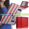 PU Leather Stand Case with Hand Strap for iPad 3